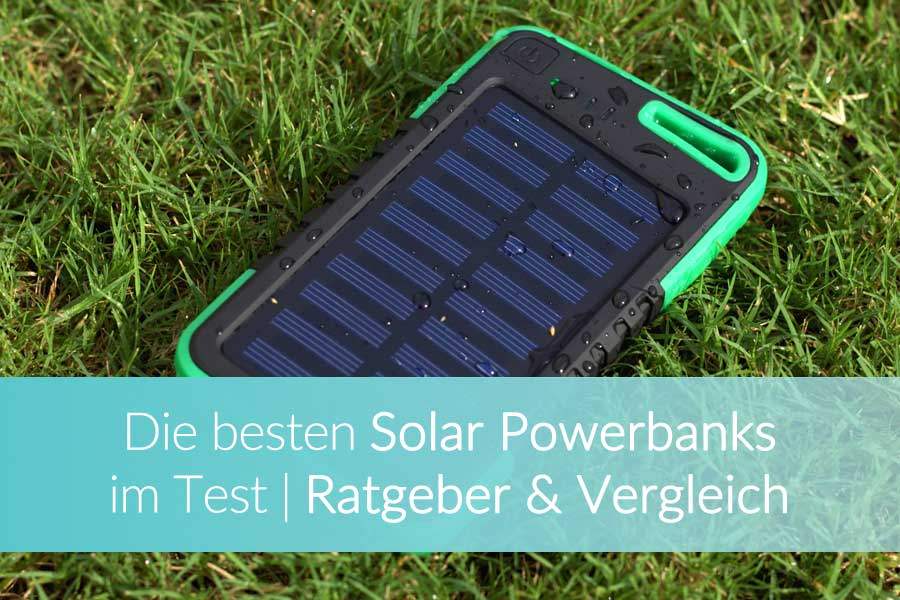 Solar Powerbank Test Outdoor