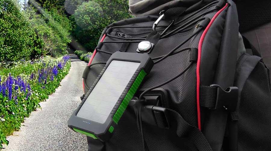 Solar Powerbank Test: Rucksack