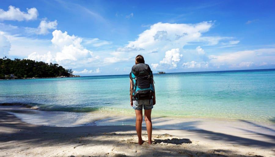 Thailand Sehenswürdigkeiten Packliste Rucksack - Koh Phi Phi, Phangan, Ko Tao