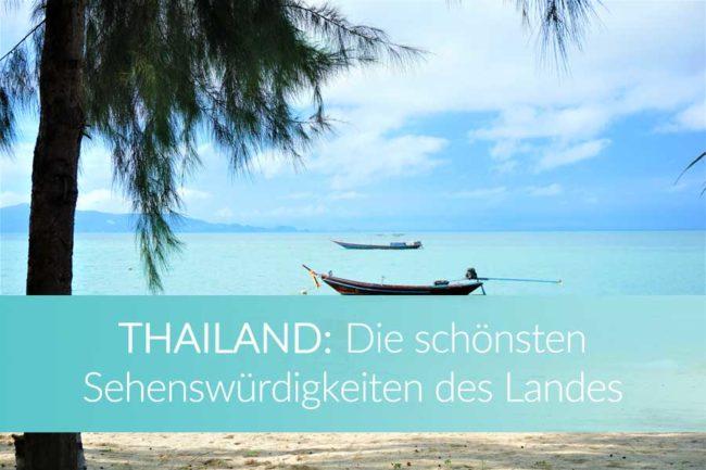 Thailand Sehenswürdigkeiten