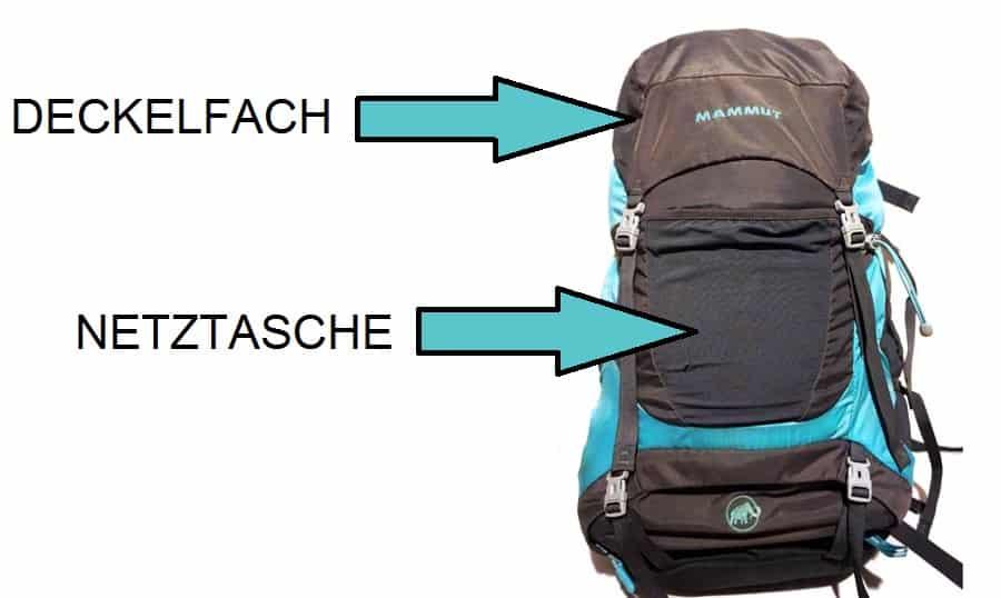 Wanderrucksack Test: Trekkingrucksack mit Deckelfach und Netztasche