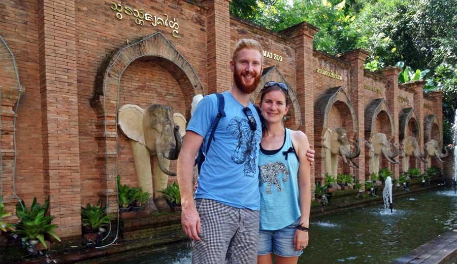 Chiang Mai Sehenswürdigkeiten: Zoo, Chedi Routenguide Chiang Mai