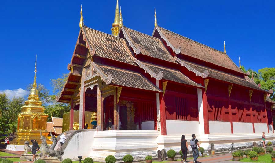 Chiang Mai Sehenswürdigkeiten: Tempel & Chedi Wat Phra That