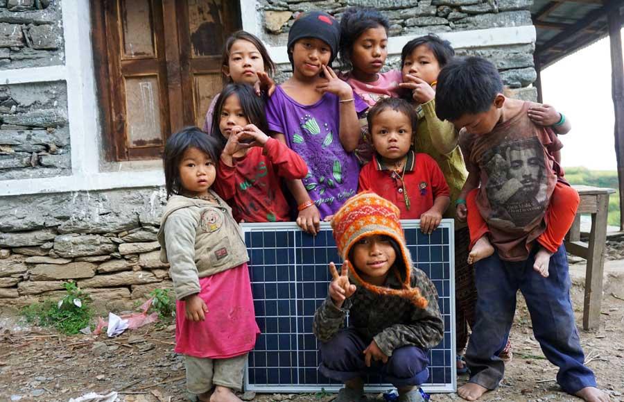 Jahresrückblick 2017: Solarprojekte Nepal