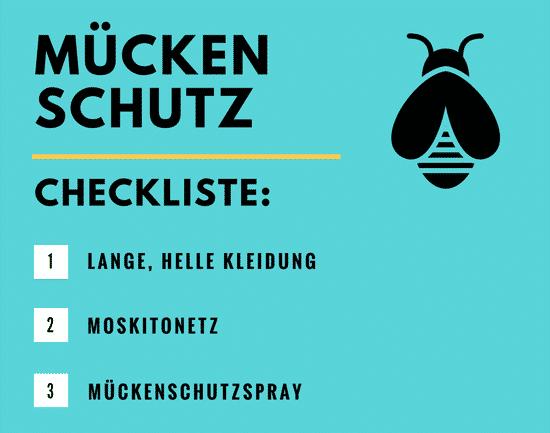 Mückenschutz Test: Infografik - Mückenmittel gegen Zecken und Mücken