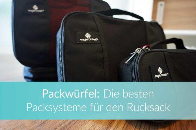 Packwürfel Rucksack