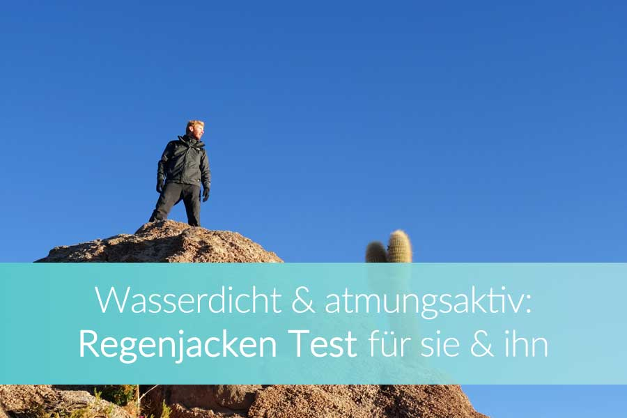 Regenjacken Test: Winddicht