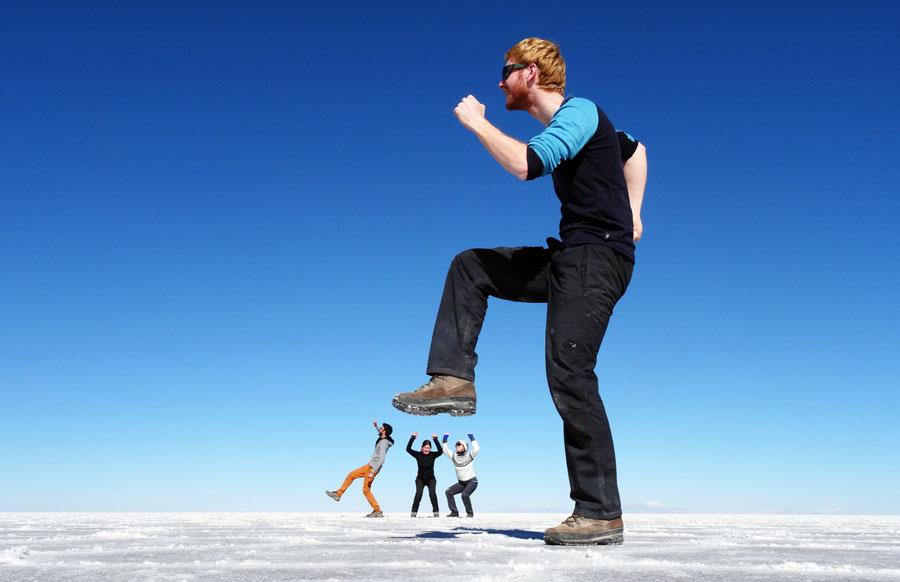 Salar de Uyuni: Salzpfanne und Salzebene Südamerika