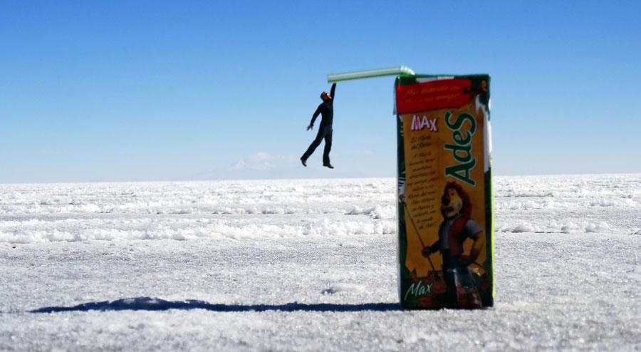 Uyuni Salzwüste: Salzebene Colchani, Lagunen & Jeeps