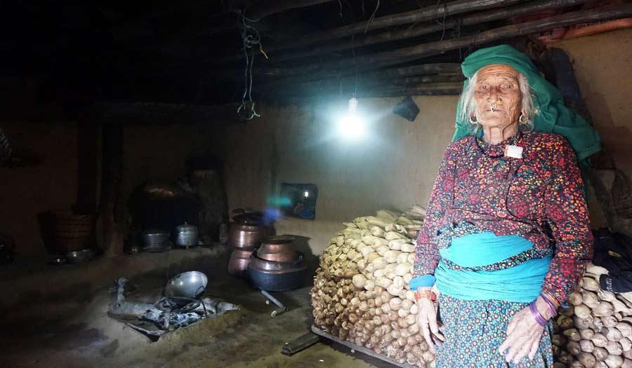 Solarprojekt Thati Gorkha Nepal
