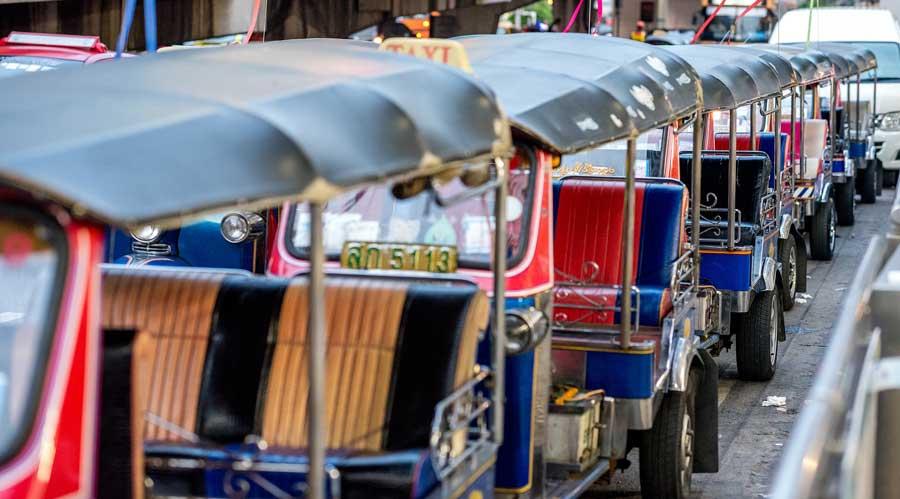 Thailand Reisetipps: Tuk Tuk Bangkok - Thailandreise Koh Lanta, Phuket, Koh Phi Phi