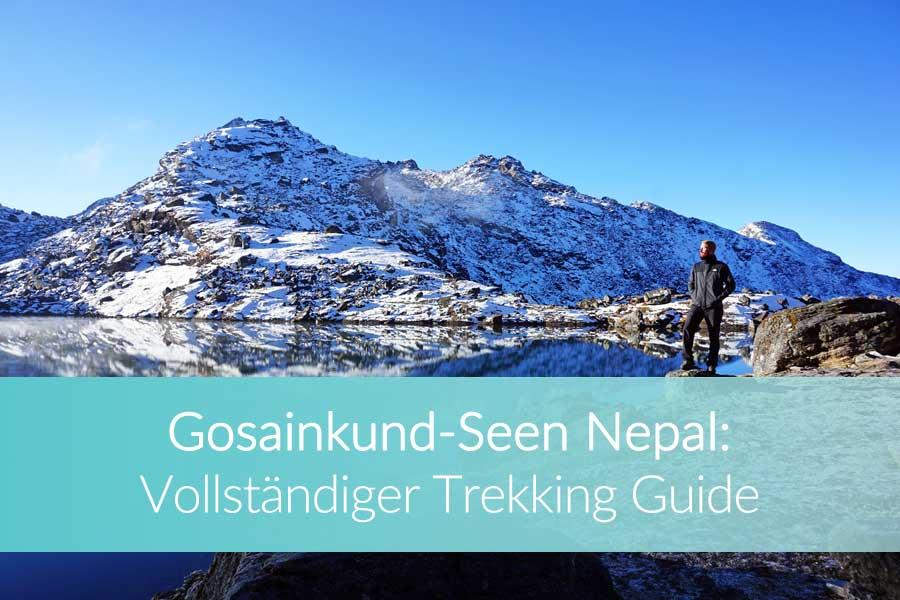 Gosainkund: Langtang - Mount Everest, Bergsteiger Terai, Nepalesischen Maoisten