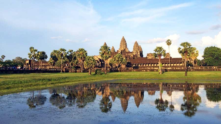 Kambodscha Sehenswürdigkeiten: Angkor Wat Siem Reap - Tempelanlage Bayon, Jayavarman