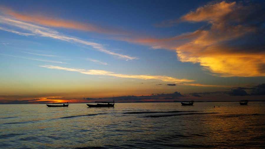 Kambodscha Sehenswürdigkeiten: Sihanoukville - Khmer, Koh Rong, Kep und Tempelanlage Bayon