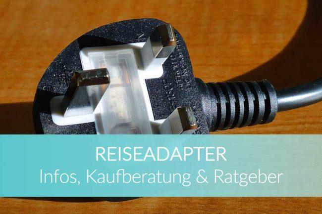 Reiseadapter: Reisestecker Schutzkontakt