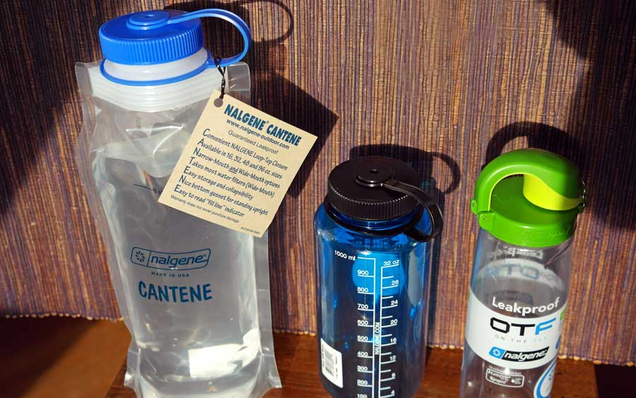 Faltbare Trinkflasche: Wasserflasche wiederverwendbar und faltbar, Liter Silikon Isolierflasche