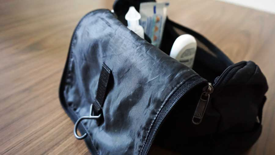 Kulturbeutel zum Aufhängen: Kulturtasche Reisen - Reiseaccessoires Tasche und Kosmetiktasche