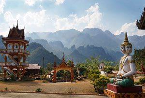 Laos Sehenswürdigkeiten: Pakse, Vieng Vang, Nong Khiaw