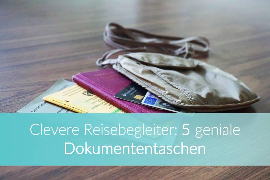 Reisedokumententasche: Dokumente unterwegs