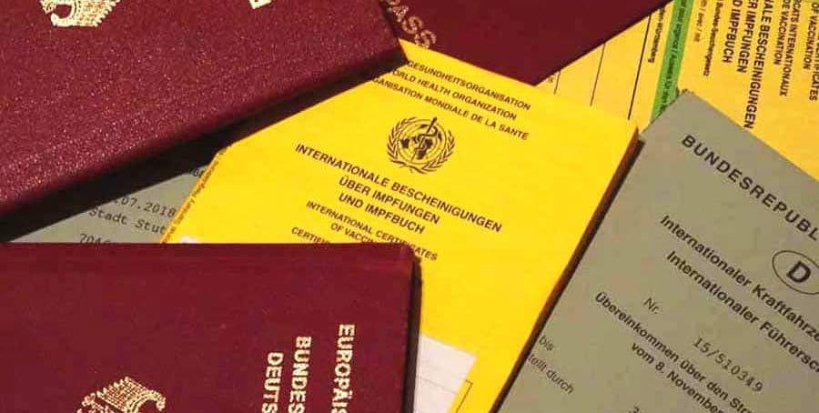 Reisedokumententasche: Dokumente unterwegs sicher aufbewahren