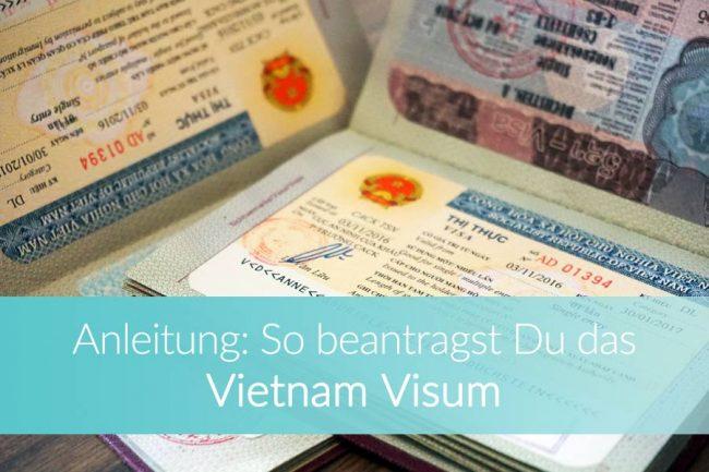 Visa Vietnam: Visum beantragen