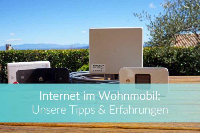 Internet im Wohnmobil: Internet unterwegs