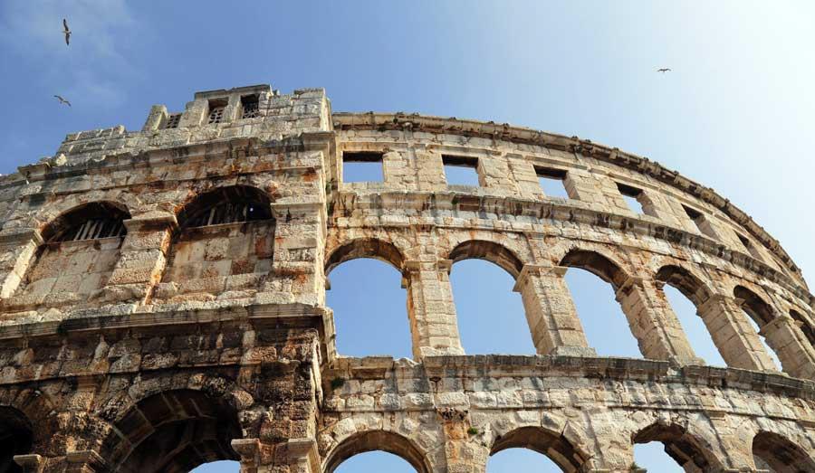 Kroatien Sehenswürdigkeiten: Pula Amphitheater