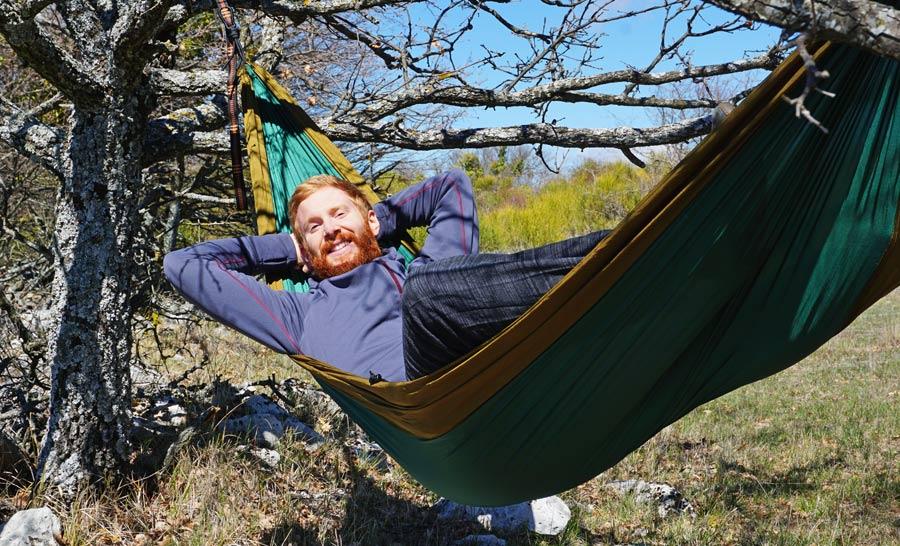 Outdoor Hängematte: Reisehängematte Tipps und Test wetterfeste Leichthängematte