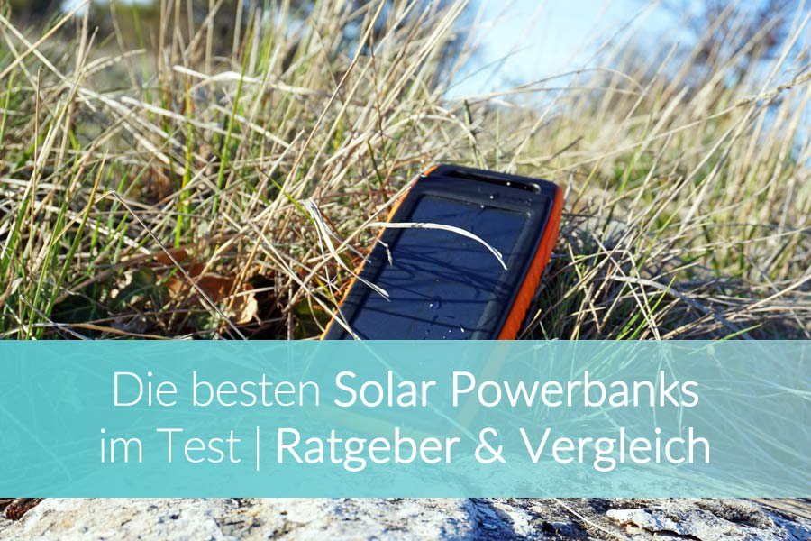 Solar Powerbank Test: Outdoor