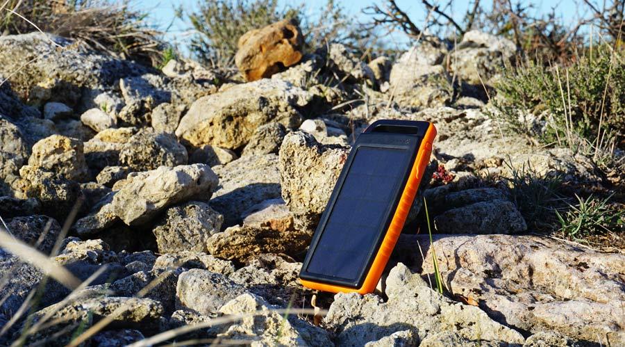 Solar Powerbank Test: Solarakku Natur
