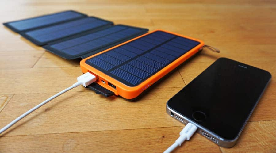 Solar Powerbank Test: 10.000 mAh