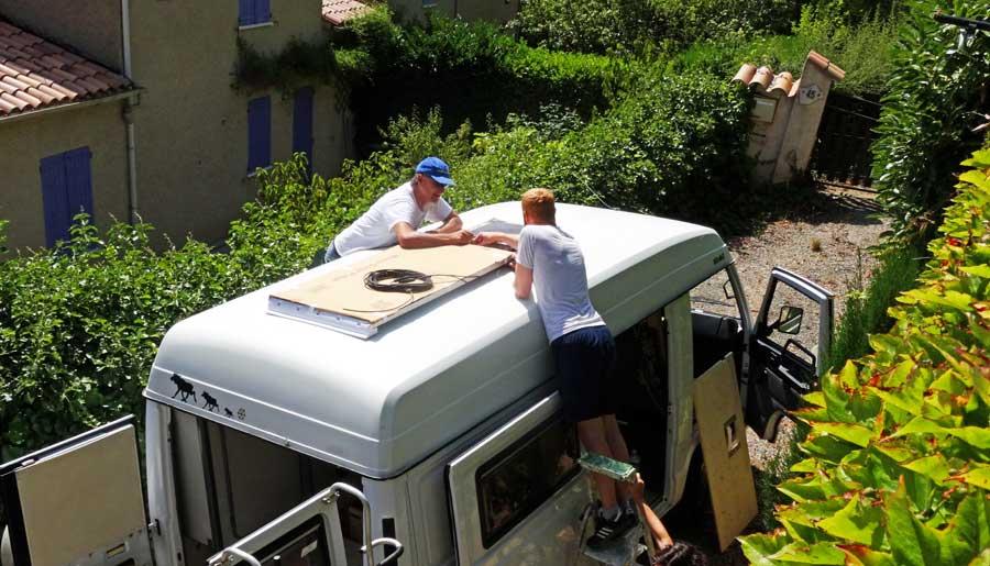 Solaranlage Wohnmobil: Tagesertrag in Wattstunde