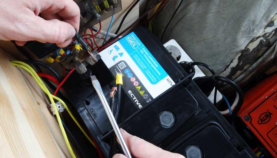 Solaranlage Wohnmobil: Aufbaubatterie für Wohnmobile