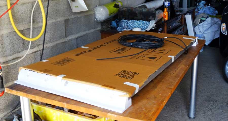 Solaranlage Wohnmobil: Solarpanele Wohnwagen Ausbau