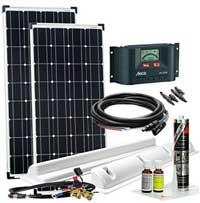 Solaranlage Wohnmobil: Solarset Wohnmobile 12v Solarmodule