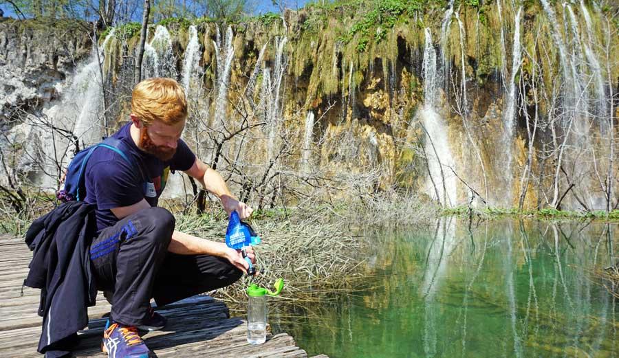 Plitvicer Seen: Trinkwasser