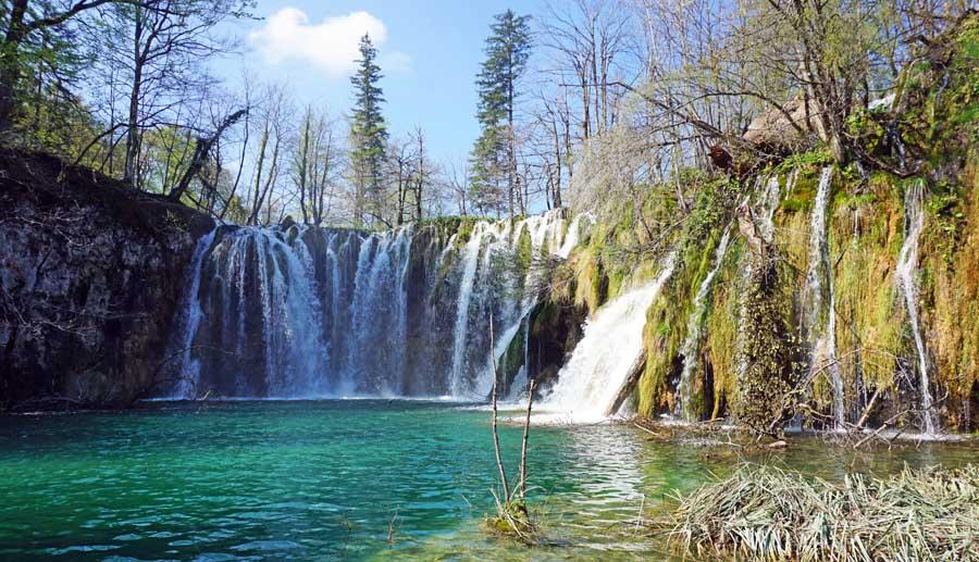 Plitvicer Seen: Wasserfall