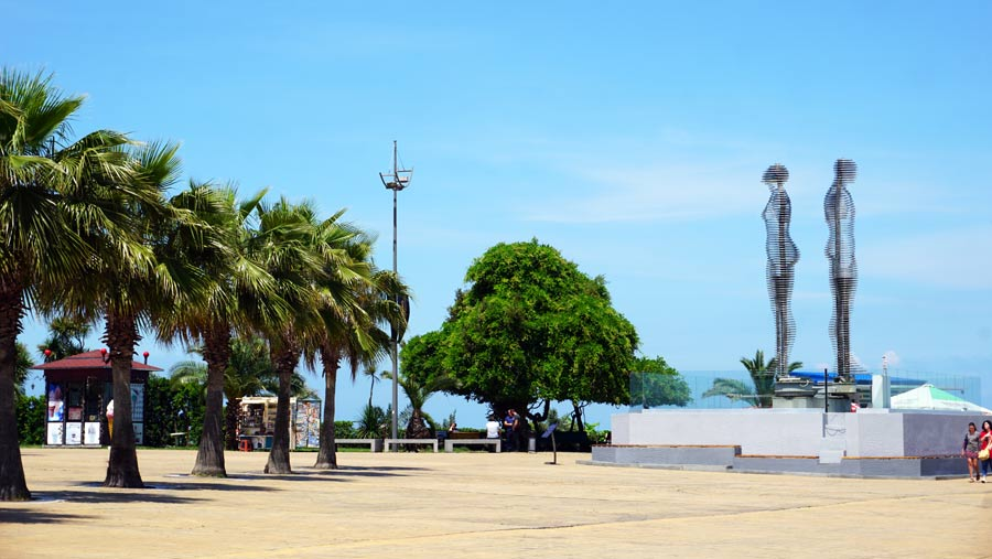 Batumi: Ali und Nino Statue - Reisebericht Tiflis, Tbilissi