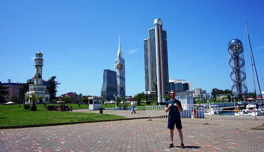 Batumi: Miracle Park Alphabetic Tower