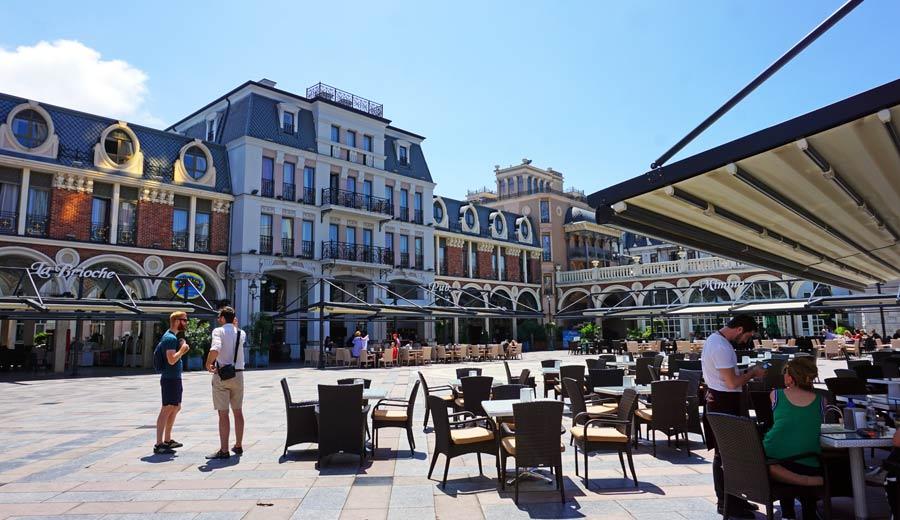 Batumi: Piazza Square