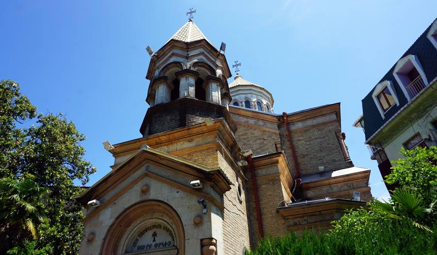 Batumi: Armenische Kirche