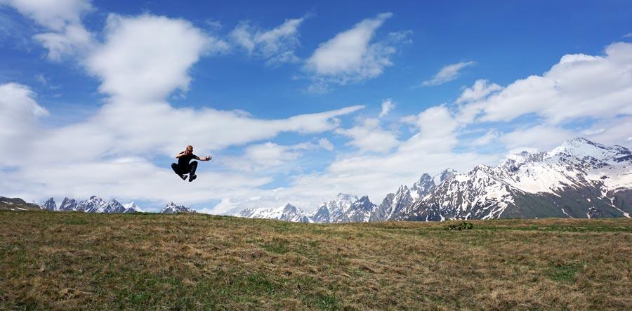 Swanetien Sehenswürdigkeiten: Lentechi Wanderung, Tbilissi und Kutaissi