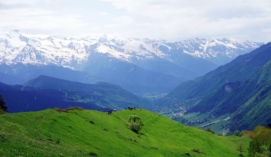 Swanetien: Trekking und Wandern - Tuschetien, Mazeri und Betscho