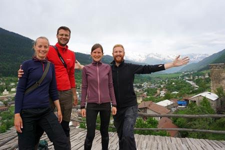 Swanetien Reisen: Betscho, Oberswanetien und Niederswanetien