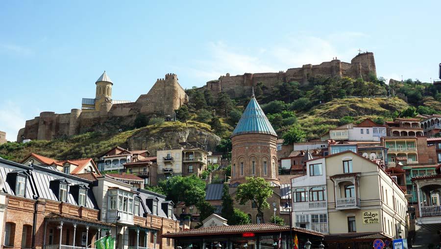 Tiflis: Narikala Festung - Rustaweli Gamsiri Tbilissi