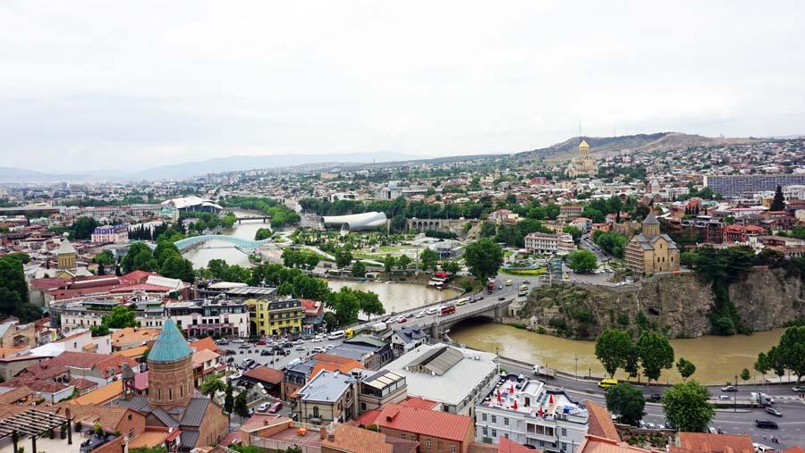 Tiflis: Nirqala Burg Botanischer Garten - Rustaveli Gamsiri Tbilissi