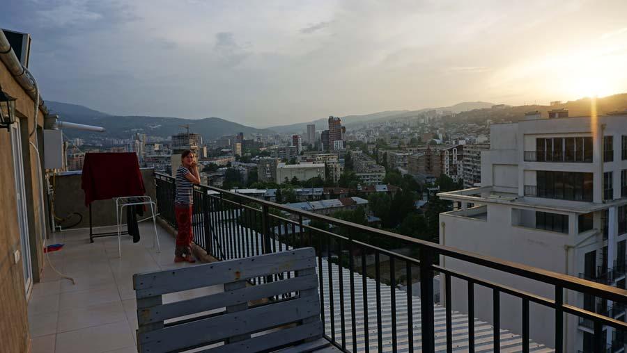 Tiflis: Saburtalo Vake Old Tbilisi - Metechi Tbilissi