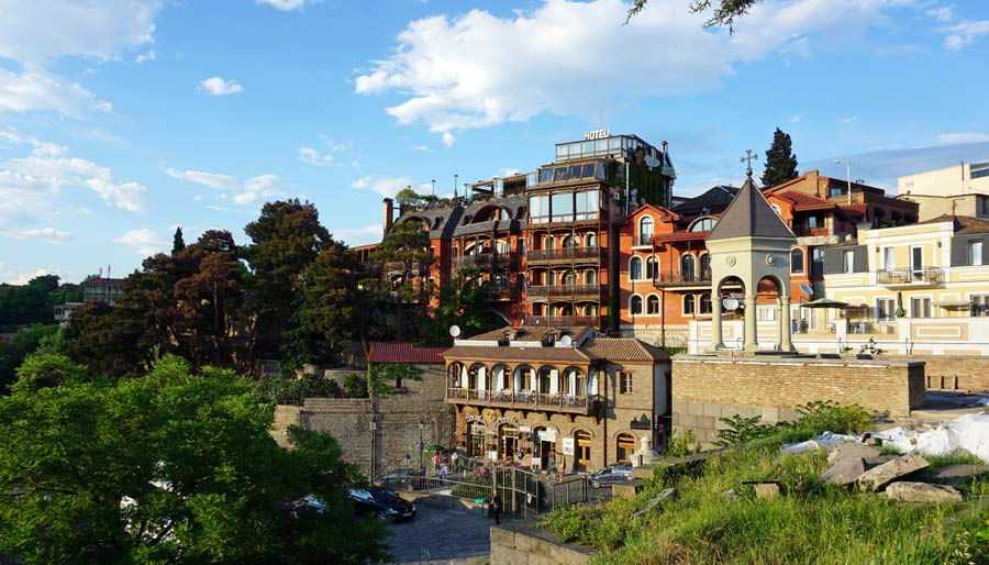Tiflis: Hauptstadt Georgiens - Rustaveli Gamsiri Tbilissi