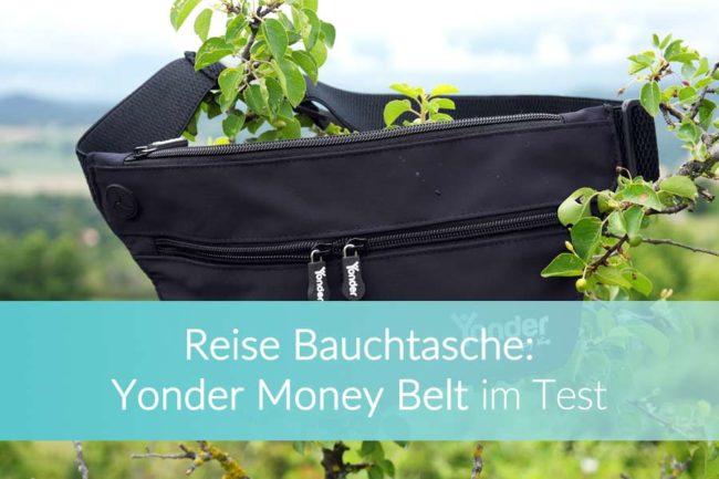 Reise Bauchtasche Money Belt