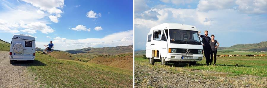 Georgien Selbstfahrer: Einreise und Versicherung
